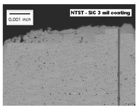 NTST Silicon Carbide (SiC) Coatings